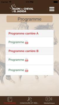 Salon du cheval d'El jadida apk screenshot