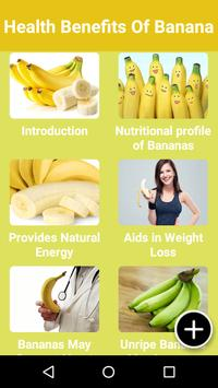 Health Benefits Of Banana screenshot 1