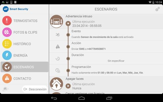 ADT-MX Smart Security apk screenshot