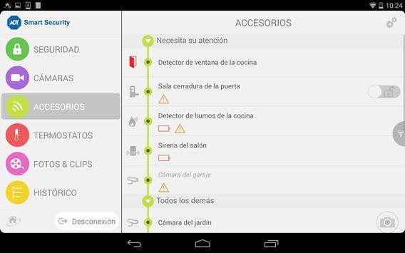 ADT-AR Smart Security DEMO apk screenshot