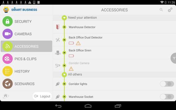 ADT Smart Business apk screenshot