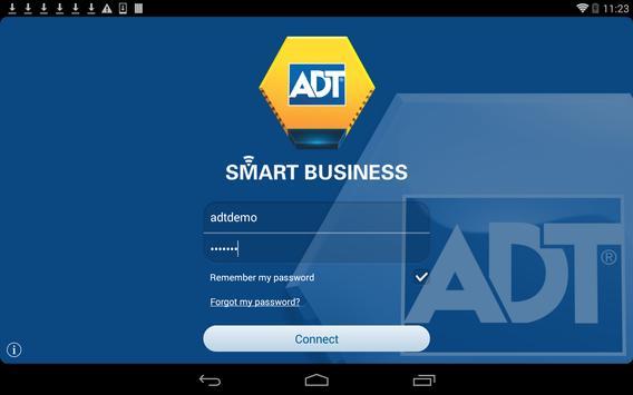 ADT Smart Business DEMO apk screenshot