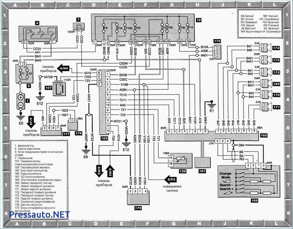 peugeot 407 wiring diagram full स्क्रीनशॉट 3     peugeot