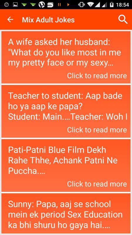 Non Veg Adult Jokes Hindi 2018 Für Android Apk Herunterladen