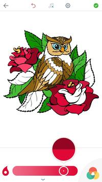 Owl Coloring Pages for Adults screenshot 2