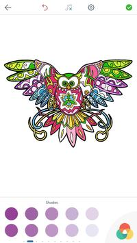 Owl Coloring Pages for Adults screenshot 3