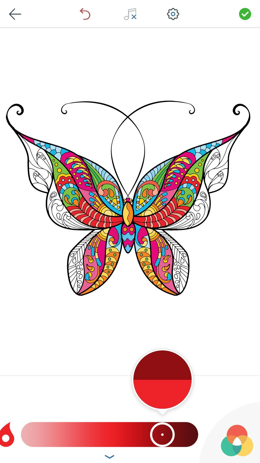 Mariposa Para Colorear Adultos For Android Apk Download