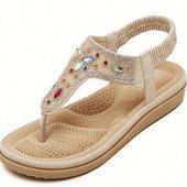 adult women's sandals design icon