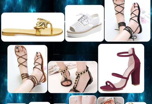 adult women's sandals design screenshot 2
