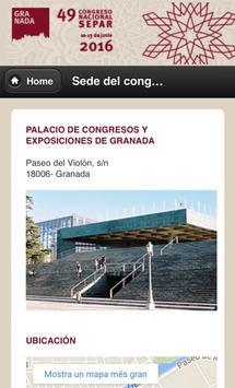 49º Congreso SEPAR 2016 apk screenshot