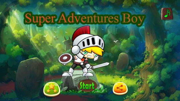 Super Adventues Boy of-mario apk screenshot