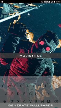 Wallpaper Design Movie Title screenshot 3