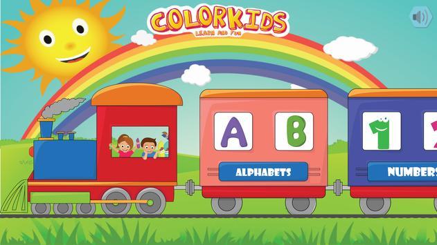 Colorkids Learn & Fun poster