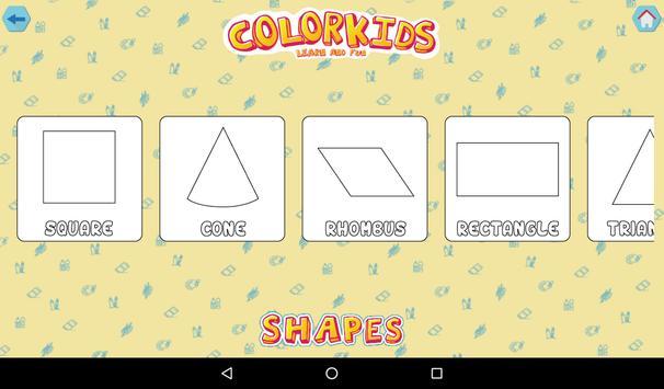 Colorkids Learn & Fun screenshot 15