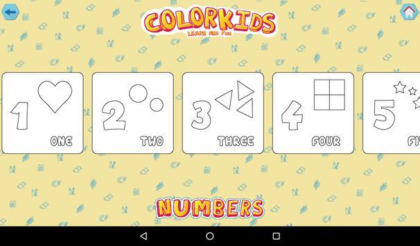 Colorkids Learn & Fun screenshot 13