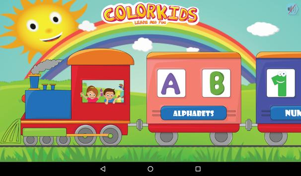 Colorkids Learn & Fun screenshot 9