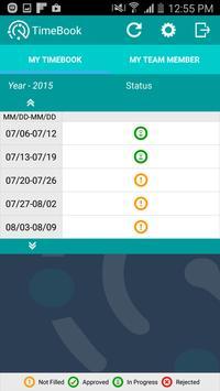TimeBook apk screenshot