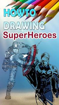 Easy How to Draw Super Hero Characters poster