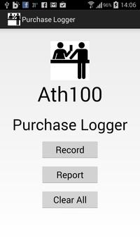 Purchase Logger poster