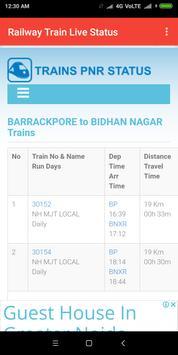 Railway Train Live Status screenshot 4