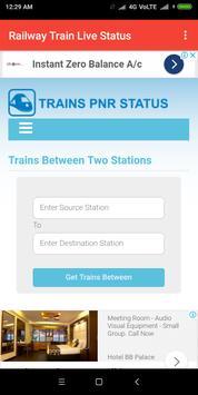 Railway Train Live Status screenshot 3