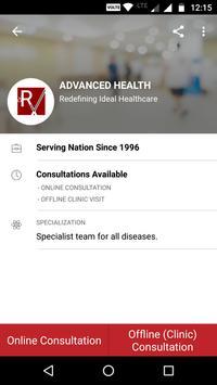 Advanced Health screenshot 2