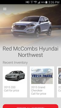Red McCombs Hyundai Northwest poster