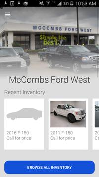 McCombs Ford West poster