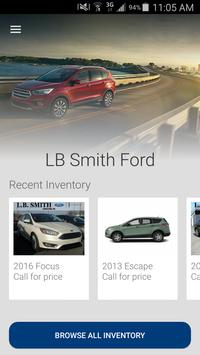 LB Smith Ford Lincoln poster