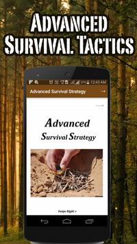 Advanced Survival Strategy poster
