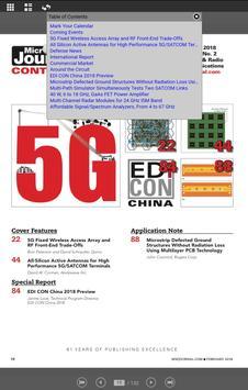 Microwave Journal Magazine screenshot 2