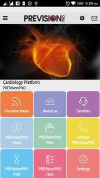Prevision Pro Cardio poster