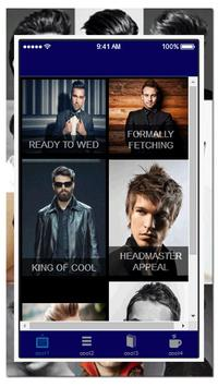 New Mens Haircut Styles apk screenshot