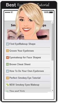 New Smokey Eye Makeup Tips poster