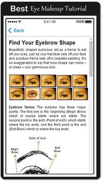 New Smokey Eye Makeup Tips apk screenshot