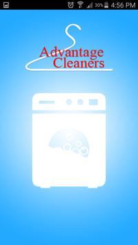 Advantages Cleaners poster