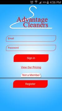 Advantages Cleaners screenshot 1