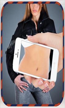 كاشف الناس بدون ملابس prank poster