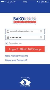 BAKO NW Group App poster