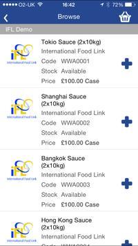 International Food Link apk screenshot