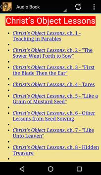 Christ Object Lessons poster
