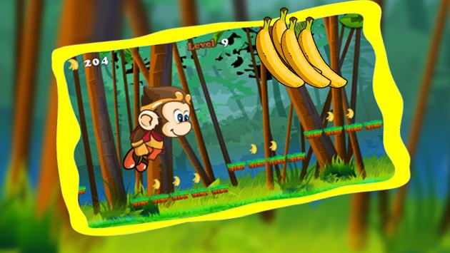 Banana Monkey Kong Adventures apk screenshot