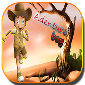 Adventure boy icon