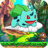 Super Bulbasaur hero adventure icon