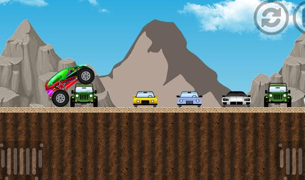 adventure car 3D poster