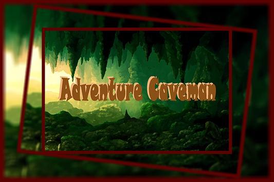 Adventure Caveman poster