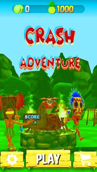 Crazy Crash Fiver Adventure screenshot 1