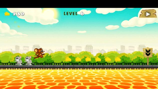Adventure of Jerry Run Game apk screenshot