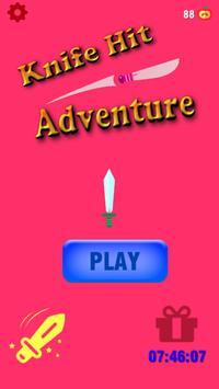 Knife Hit Adventure screenshot 1