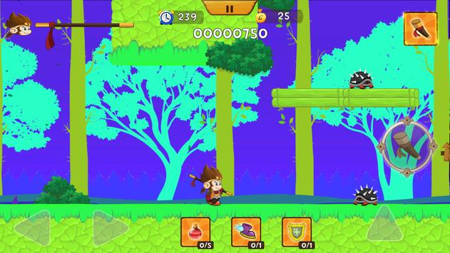 Adventure Monk apk screenshot